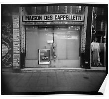 Maison des cappelletti - Grenoble, France Poster