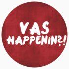 VAS HAPPENIN?! by angelx64