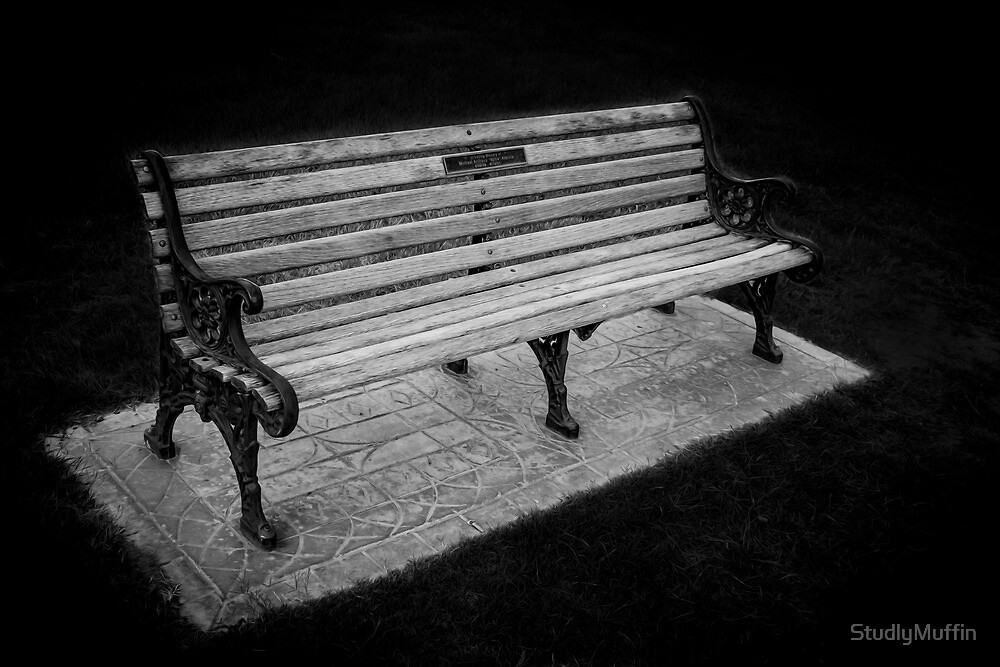 Lonely Lil' Bench by StudlyMuffin