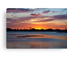 Reign of total peace Canvas Print