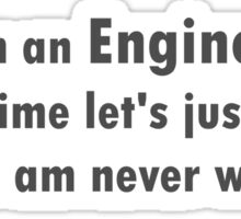 Engineering Sticker
