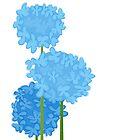 Blue Hydrangeas by rusanovska