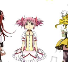 Madoka Group Sticker