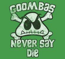 Goombas Never Say Die One Piece - Short Sleeve