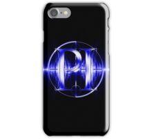 PI Radio Logo (Blue) iPhone Case/Skin