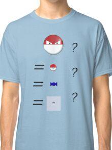 Pokemon Logic Classic T-Shirt