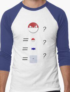 Pokemon Logic Men's Baseball ¾ T-Shirt