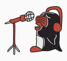 Singing Penguin DJ Star by Style-O-Mat