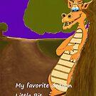 Dragon called Little Bit. by Melba428