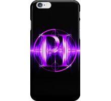 PI Radio Logo (Purple) iPhone Case/Skin