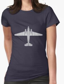 Douglas DC-3 Womens Fitted T-Shirt