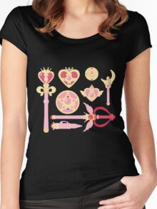 Sailor Moon Accessories Women's Fitted Scoop T-Shirt
