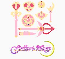 Sailor Moon Accessories w/logo Unisex T-Shirt