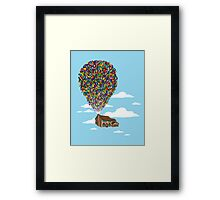 Up Over Springfield Framed Print
