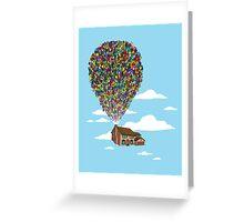 Up Over Springfield Greeting Card