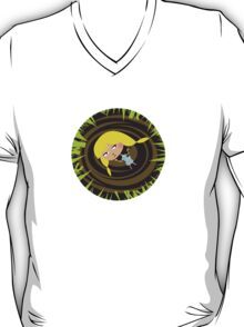 Alice and the rabbit hole T-Shirt