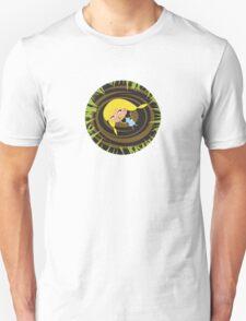 Alice and the rabbit hole Unisex T-Shirt