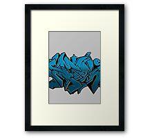 Graffiti Piece: Stole Framed Print