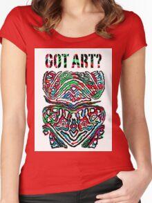 Got Art - Santa Cruz Women's Fitted Scoop T-Shirt