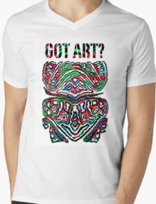 Got Art - Santa Cruz Mens V-Neck T-Shirt