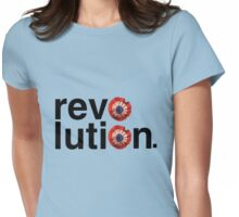 Rev[rosette]luti[rosette]n. Womens Fitted T-Shirt