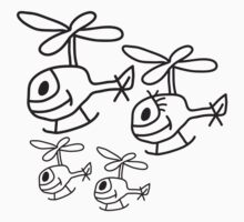 Helicopter Family by Style-O-Mat