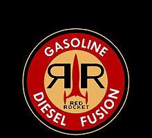 Fallout 4 Nuka Cola Red Rocket Gasoline by closeddoor
