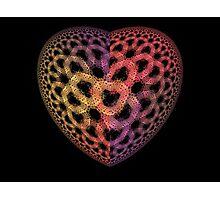 Heart Tiles Photographic Print