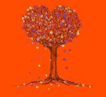 Love in the Fall Kids Tee