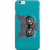 Hipster Cat iPhone Case/Skin