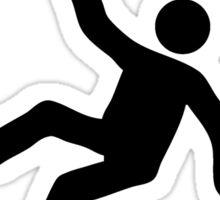 CAUTION - DANCE FLOOR Sticker