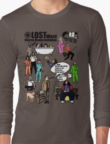 Lost Dharma Looney Bin Long Sleeve T-Shirt
