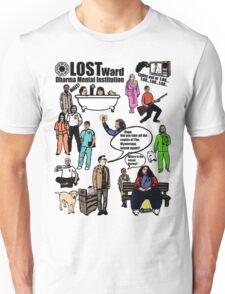 Lost Dharma Looney Bin Unisex T-Shirt