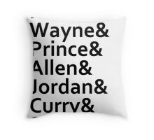 The Justice League Throw Pillow