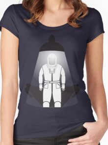 Who Turned Out The Lights v2 Women's Fitted Scoop T-Shirt