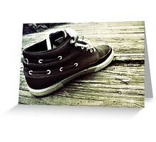 The lost shoe Greeting Card