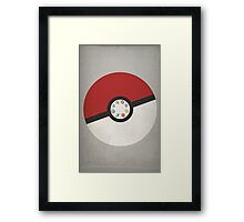 Pokemon Master Framed Print