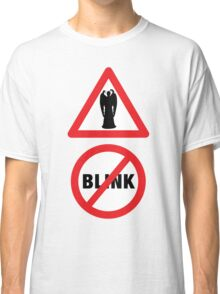 Angels Ahead, Don't Blink! Classic T-Shirt