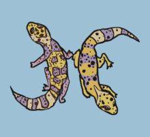 """Zodiac Leopard Geckos -- """"Pisces"""" by Muninn"""