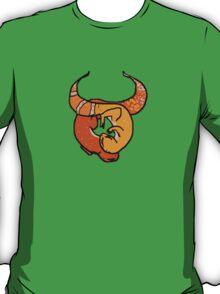 """Zodiac Leopard Geckos -- """"Taurus"""" T-Shirt"""