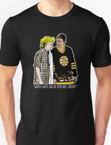 "Happy Gilmore - ""Where were you"" Unisex T-Shirt"