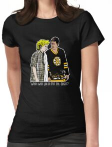 """Happy Gilmore - """"Where were you"""" Womens Fitted T-Shirt"""