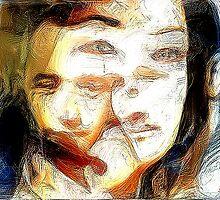 Emotional indecision by Vasile Stan