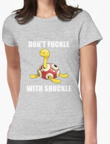 Shuckle Womens Fitted T-Shirt