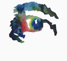 Watercolor Eye One Piece - Short Sleeve