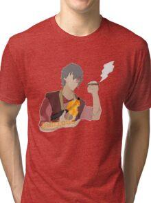 Light Fire with Fire Tri-blend T-Shirt