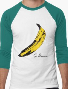 Go Banana Men's Baseball ¾ T-Shirt
