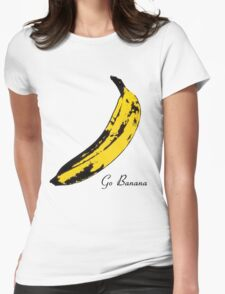 Go Banana Womens Fitted T-Shirt