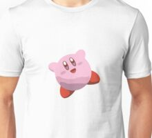 Minimalist Kirby from Super Smash Bros. Brawl Unisex T-Shirt