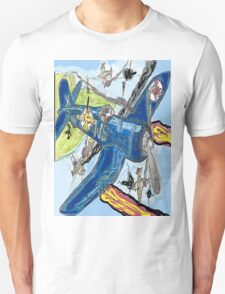 Corsair Snoopy the All Time Flying Ace Unisex T-Shirt